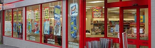 ral colour match shop front